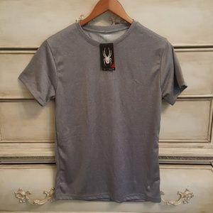 NWT Spyder Crew Neck Men's Tee T-Shirt Small